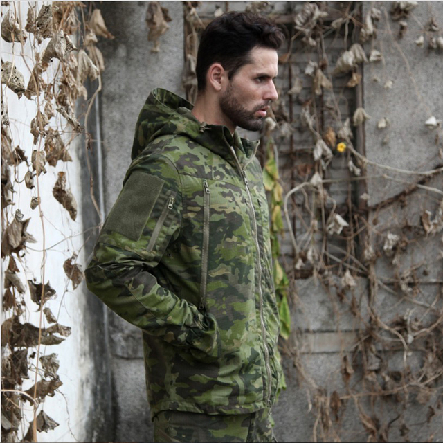 Pro. Camouflage Military Jacket  Equipment Tactical Multicam Jacket Men Combat Airsoft Shirts Hunting Clothes 3