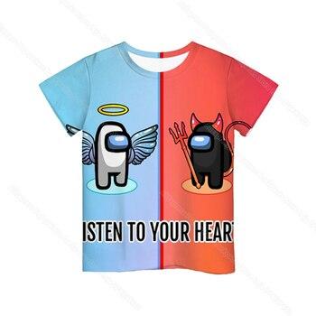 Cartoon Tee  Baby Kids Boys Girls Children Short Sleeves Summer Clothing Fashion 3d Print Toddler Camiseta 9