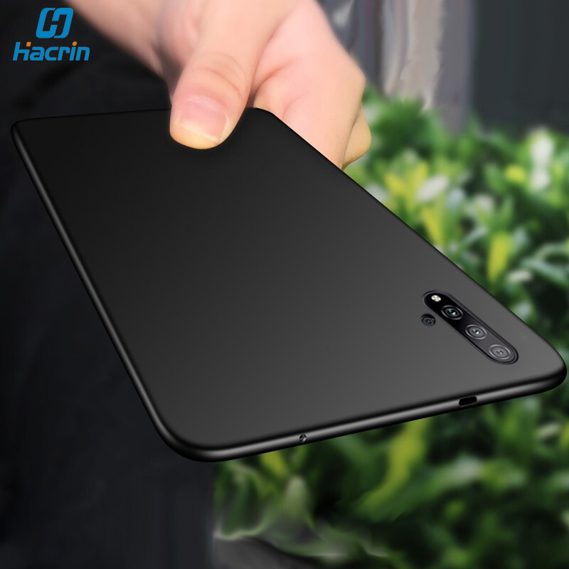 Hacrin Matte <font><b>Case</b></font> For Huawei <font><b>Honor</b></font> 20 Pro <font><b>Case</b></font> Soft TPU Matte Bumper Full Protection Back Cover On For <font><b>Honor</b></font> 20 20 Lite <font><b>20i</b></font> <font><b>Case</b></font> image