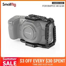 SmallRig-كاميرا سينما 4K ، قفص نصف قفص لـ Blackmagic Design ، قفص مع قضبان ناتو ، حذاء بارد ، مع فتحة تحديد ، 2254