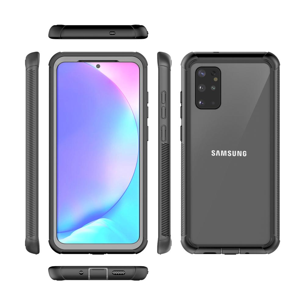 Shockproof Case for Samsung Galaxy S8 S9 S10 S20 Plus Ultra Full Body Case for Note 9 10 360 Protect Case Cover Screen Protector