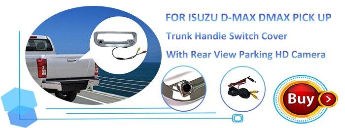 Isuzu D-max trunk cover Camera