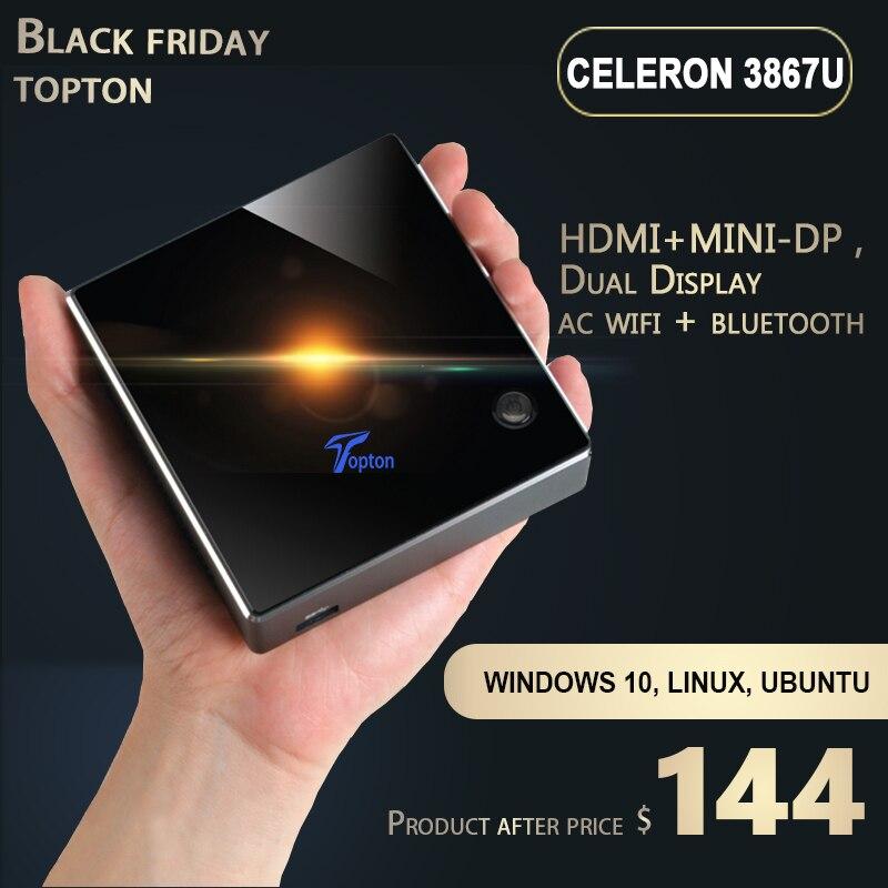 Mini PC-Intel Core I5 8250U 4K Mini Desktop Computer Support Windows 10 Intel HD Graphics/LAN/WiFi 64-bit/[Dual HDMI/MINI-DP] PC