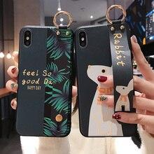 Wrist Strap Case For Huawei P40 P20 P30 Pro P30 P20 P40 Lite 2019 P10
