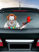 Auto Car Rear Windshield Vehicle Window Wiper Decal Styling Animated Car Stickers Decoration Sticker Halloween Car Decor 3 pieces speedometer tachometer rear windshield reflective car rear window decoration speedometer sport cool car sticker