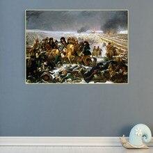 Citon – peinture à l'huile sur toile d'antoine-Jean Gros, «chaton sur le champ de bataille d'eylau», tableau d'art, décoration murale moderne pour la maison