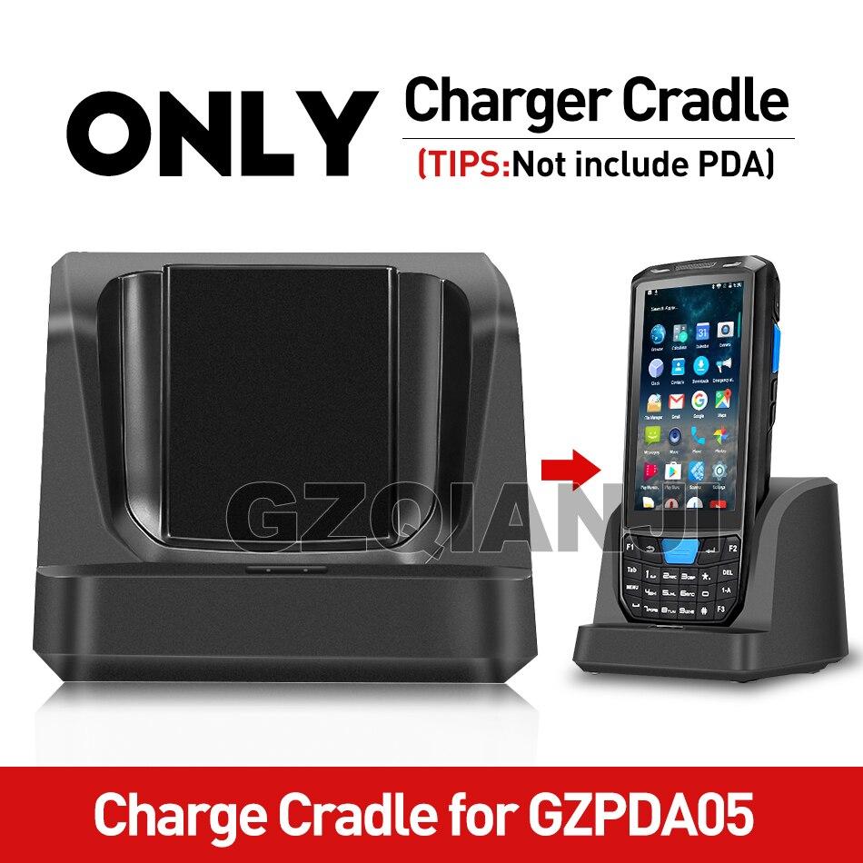 Только Зарядная база для GZPDA05 PDA, сканер штрих-кода, Ручной PDA Android 7,0 2 Гб 16 Гб со съемной батареей 4200 мАч