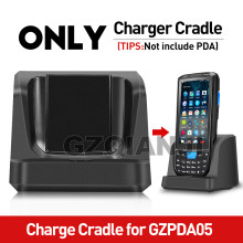 Only Charge Cradle for GZPDA05 PDA Barcode Scanner Handheld PDA Android 7.0 2G 16G With 4200mAh removable Battery(China)