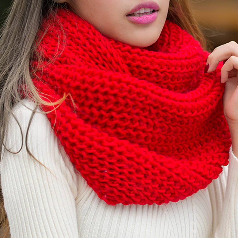 19 Colors Knitted Spring Women Scarf Warm Wool Scarves  Autumn And Winter Scarf  Made For Couples Unisex Popular Soild Soft