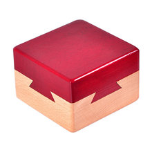 Children Jewelery Box Toy Classic 3D Funny Magic Drawer Adult Brain Teaser Educational Case Wooden Gift Mini(China)