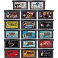 Cartucho de videogame nintendo gba, 32 bit, cartucho de jogos para rpg, a série de jogos, primeira edição