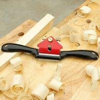Avião ajustável porta voz shave carpintaria mão plaina ferramentas de corte 9 Polegada madeira mão borda cinzel ferramenta com parafuso|Plainas manuais|Ferramenta -