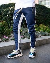 Jogging casual Hombre Pantalones de aptitud de los hombres ropa deportiva pants