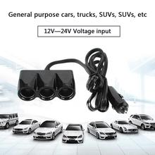 Splitter-Plug Lighter-Socket Power-Adapter Auto-Charger Car Cigarette USB Truck for iPhone