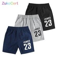 Шорты детские хлопковые для мальчиков и девочек, детские пляжные короткие спортивные штаны, для отдыха