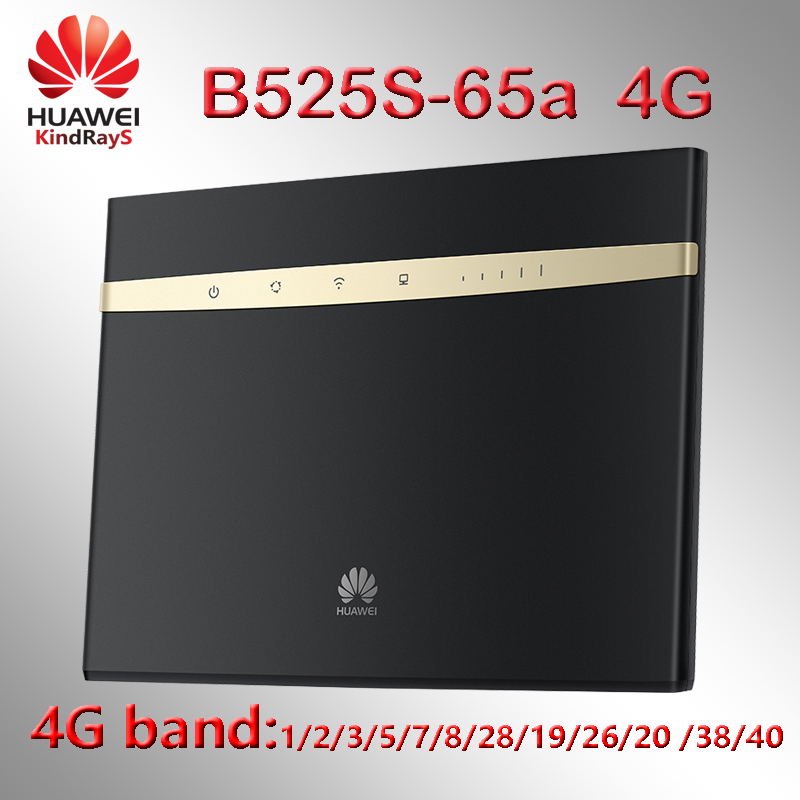 Unlocked 4g Router Huawei B525 B525S-65a 4G LTE CPE Router With SIM Card Slot B525s 4g Wifi Router Portable 3g 4g Router