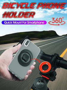 Clip Bike-Phone-Holder Moto-Bracket Bicycle-Stand-Mount Universal Android for GPS
