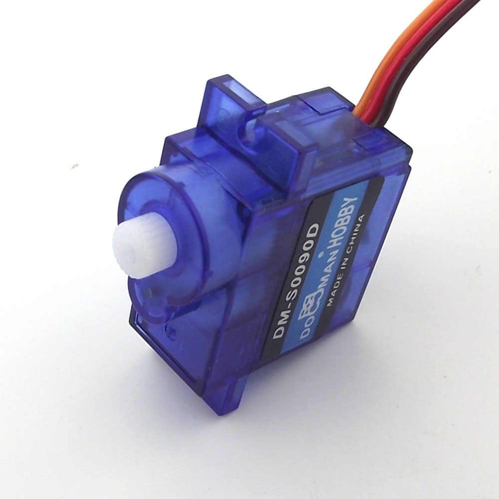 360 องศาต่อเนื่อง Servo 1 ชิ้น/ล็อต DM-S0090D 9g/0.08 S/1.6kg.cm ดิจิตอล Micro RC Servo