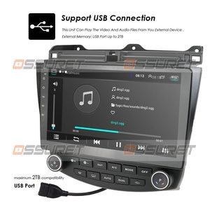 Image 4 - راديو ستيريو للسيارة مزود بجي بي إس وشاشة 10.1 بوصة يعمل بنظام الأندرويد 10.0 وواي فاي 4G لسيارة هوندا أكورد 2003 2007 + كاميرا عالية الدقة ومرآة موصل DTV SWC DVR مزود بتقنية البلوتوث USB OBD2