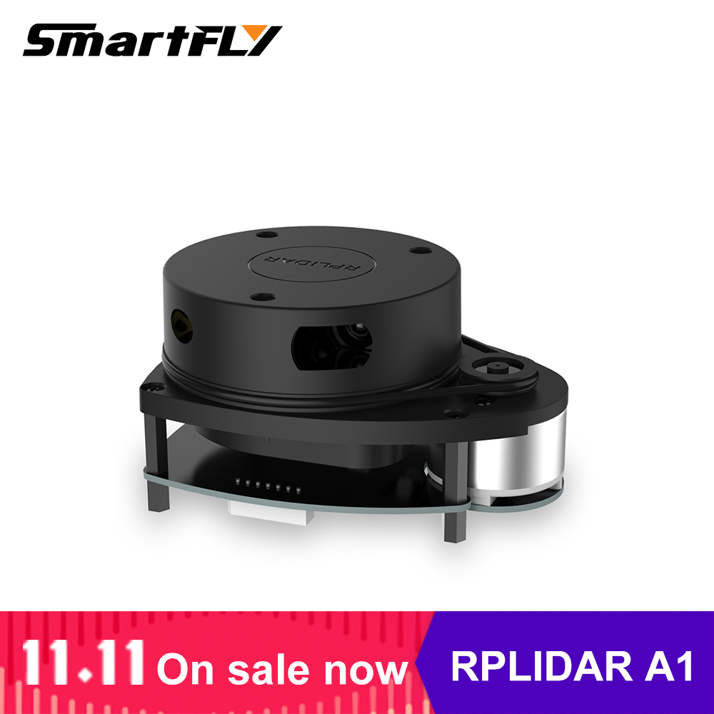 Slamtec rplidar a1 2d 360 graus 12 medidores varredor do sensor do raio de varredura lidar para a prevenção do bstacle e a navegação de robôs