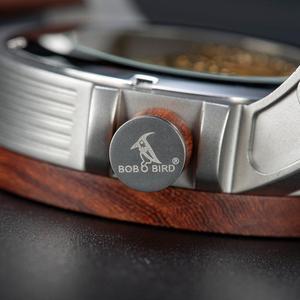 Image 4 - レロジオ Masculino ボボ鳥自動腕時計男性トップブランドの高級機械式腕時計男性 erkek kol saati ドロップシッピングの Oem
