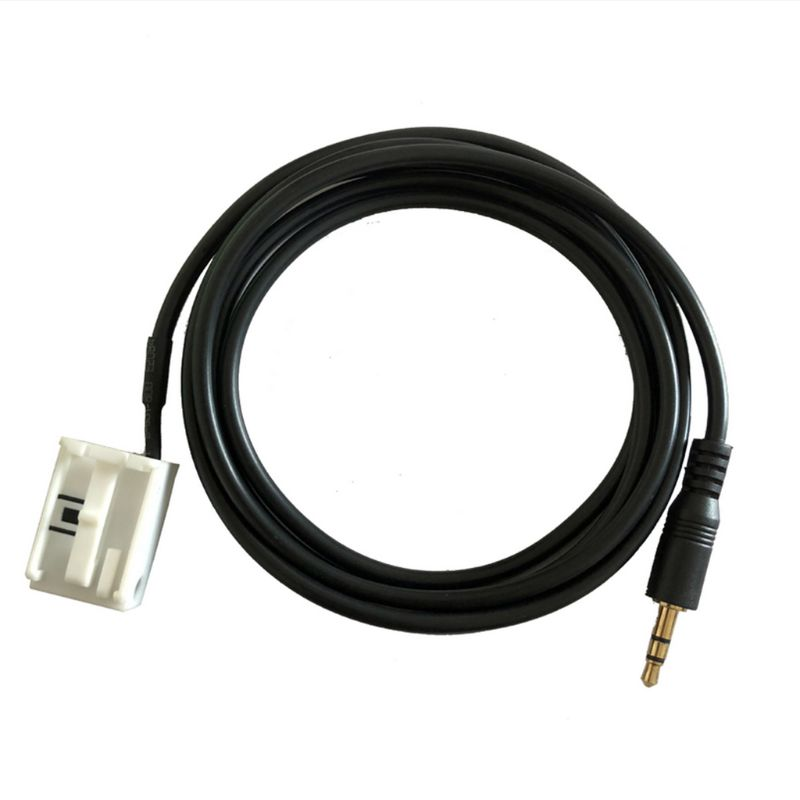 AUX in audio Eingang Kabel <font><b>Adapter</b></font> für vw Touran Tiguan Golf Rcd510 Rcd310 RNS510 150cm für vw Golf V, golf V Plus, <font><b>T5</b></font> Caddy image
