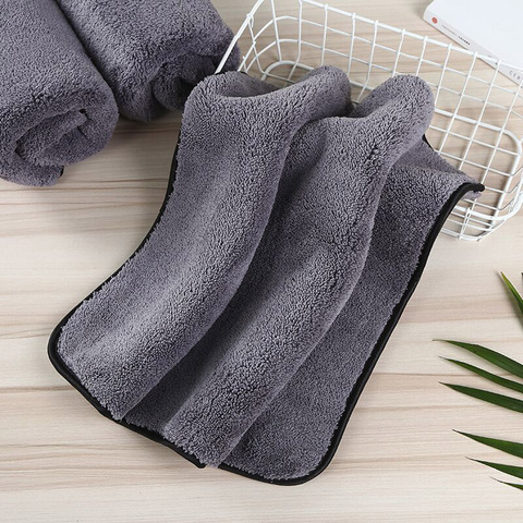 carro da toalha de microfibra lavagem
