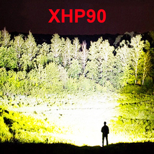 New pattern xhp90 most powerful led torch led flashlight xhp70 xhp50 rechargeabl