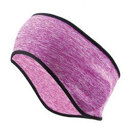 Зимняя Теплая повязка для ушей унисекс из искусственного флиса для холодной погоды теплая повязка для волос 40JF
