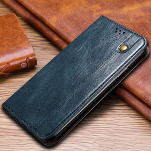 Image 1 - Luxury Glossy Leather Flip Case For Xiaomi POCO X3 Pro Case Magnetic Wallet Card Holder Flip Cover For POCO F3 Capa