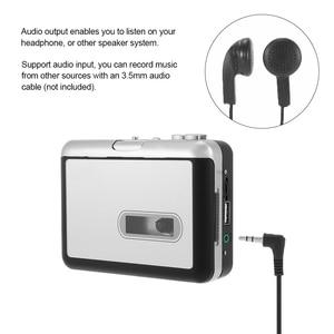 Image 4 - Grabadora de cassette de cinta nueva, convertir cassette de cinta a mp3 en disco Flash USB, no se requiere pc, reproducción, envío gratis, 2017