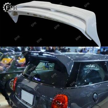 FRP Wing Lip For F56 Mini Cooper S DAG Style Glass Fiber Rear Roof Spoiler 2psc Body Kit Trim Tuning For Mini F56 Racing
