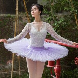 Горячая Распродажа высококачественная одежда для балерины с эффектом омбре для взрослых и девушек, профессиональная пачка для блинов Балет      АлиЭкспресс