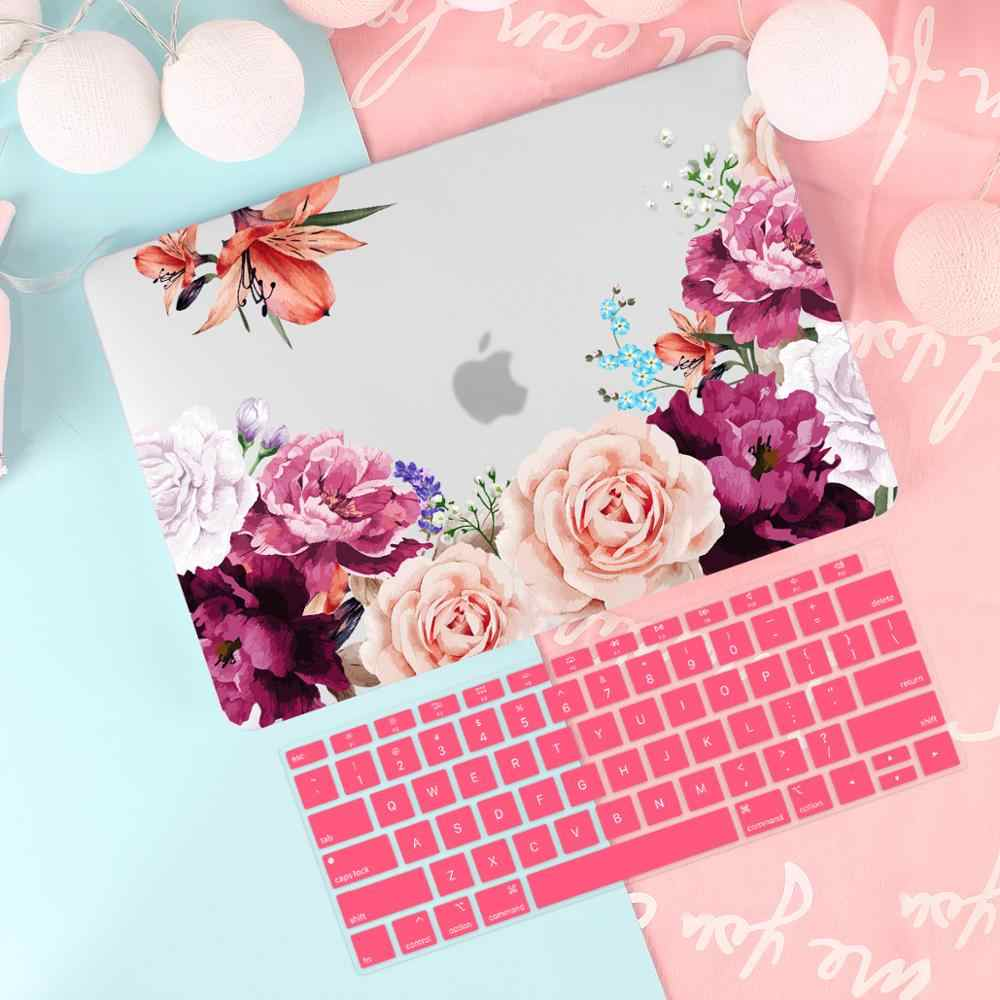 Leuke Patroon Case Voor Apple Macbook Pro Air 13 15 16 Touch Bar/Touch Id 2202 A2289 A2159 A1932 a1706 A1990 Hard Cover + Gratis Geschenk