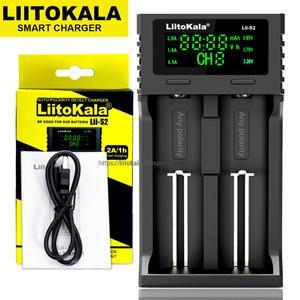 Image 2 - Liitokala Lii 402 Lii 202 100 Lii S2 Lii S4 18650 charger 1.2V 3.7V 3.2V 3.85V AA/AAA 26650 16340 NiMH lithium battery charger