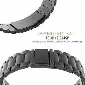 Image 2 - Fenix 6S מתכת צמיד 20mm נירוסטה מתכת QuickFit להקת שעון רצועת עבור Garmin Fenix 5S/5S בתוספת החלפת צמיד