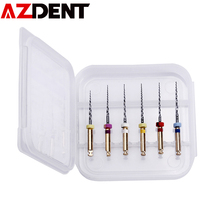 SX-F3 Files-Root Dental-Instrument Canal Endondontic AZDENT Canal-Machine-Use 6pcs/Pack