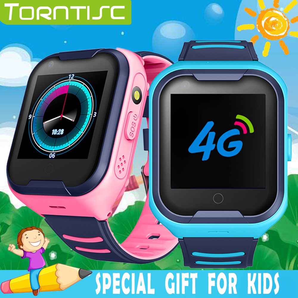 Torntisc 1.4 Inch IPS Screen 4G Kids GPS Smart Watch AI SOS Video Call 650mAH Long Standby Time Kids Smartwatch For Children