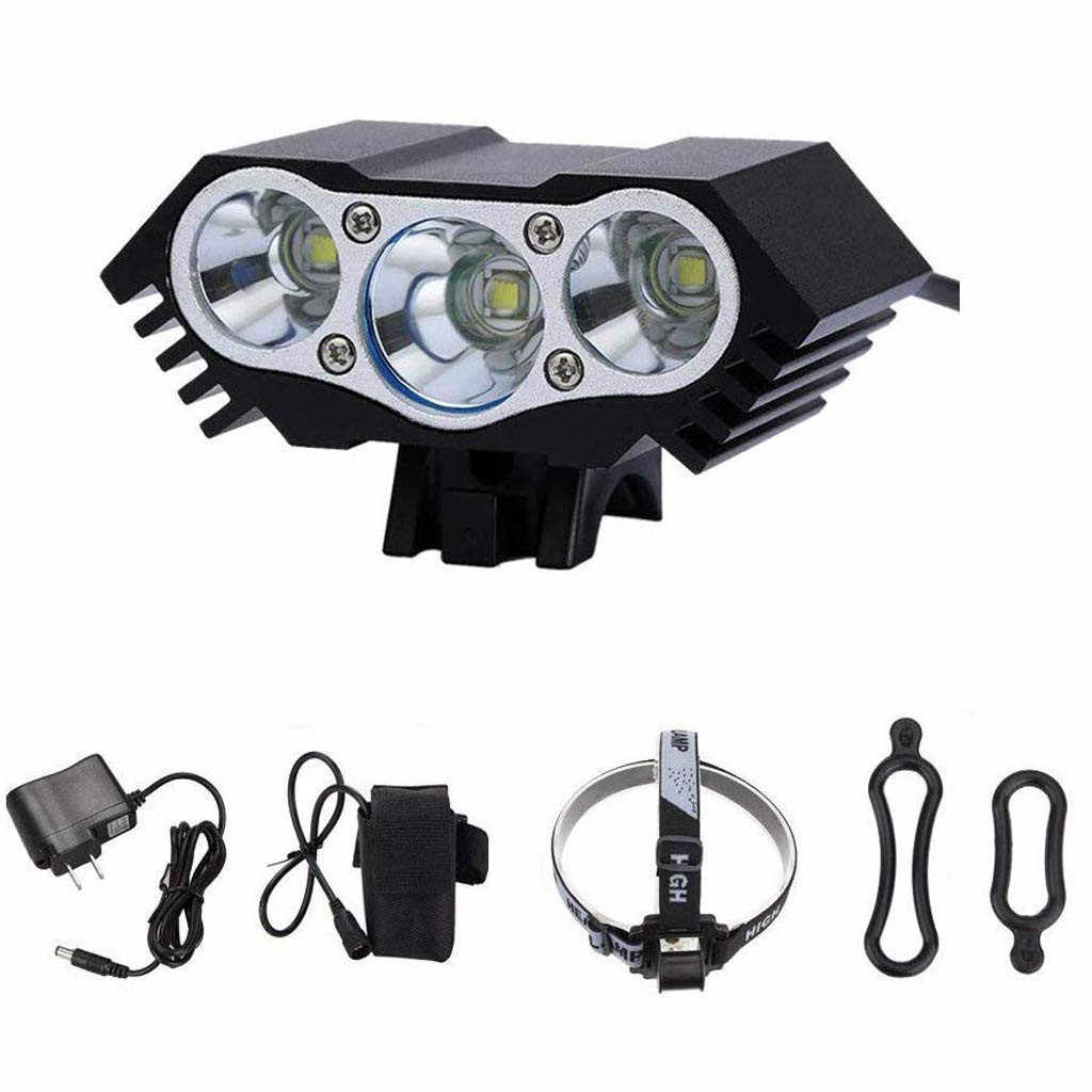 USB Rechargeable CREE XM-L T6 LED Bicycle Headlight Bike Head Light Lamp Cycling