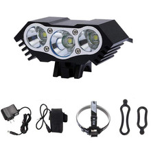 7500LM T6 LED USB impermeable lámpara Bicicleta faro Bicicleta luz frontal carga Bicicleta linterna lámpara Bicicleta # YL10