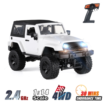 F2 RC Car 1/14 Scale Remote Control Truck Convertible 4WD 2.4GHz Off Road RC Trucks 30km/h High Speed Vehicle Crawler Toys Kid 1