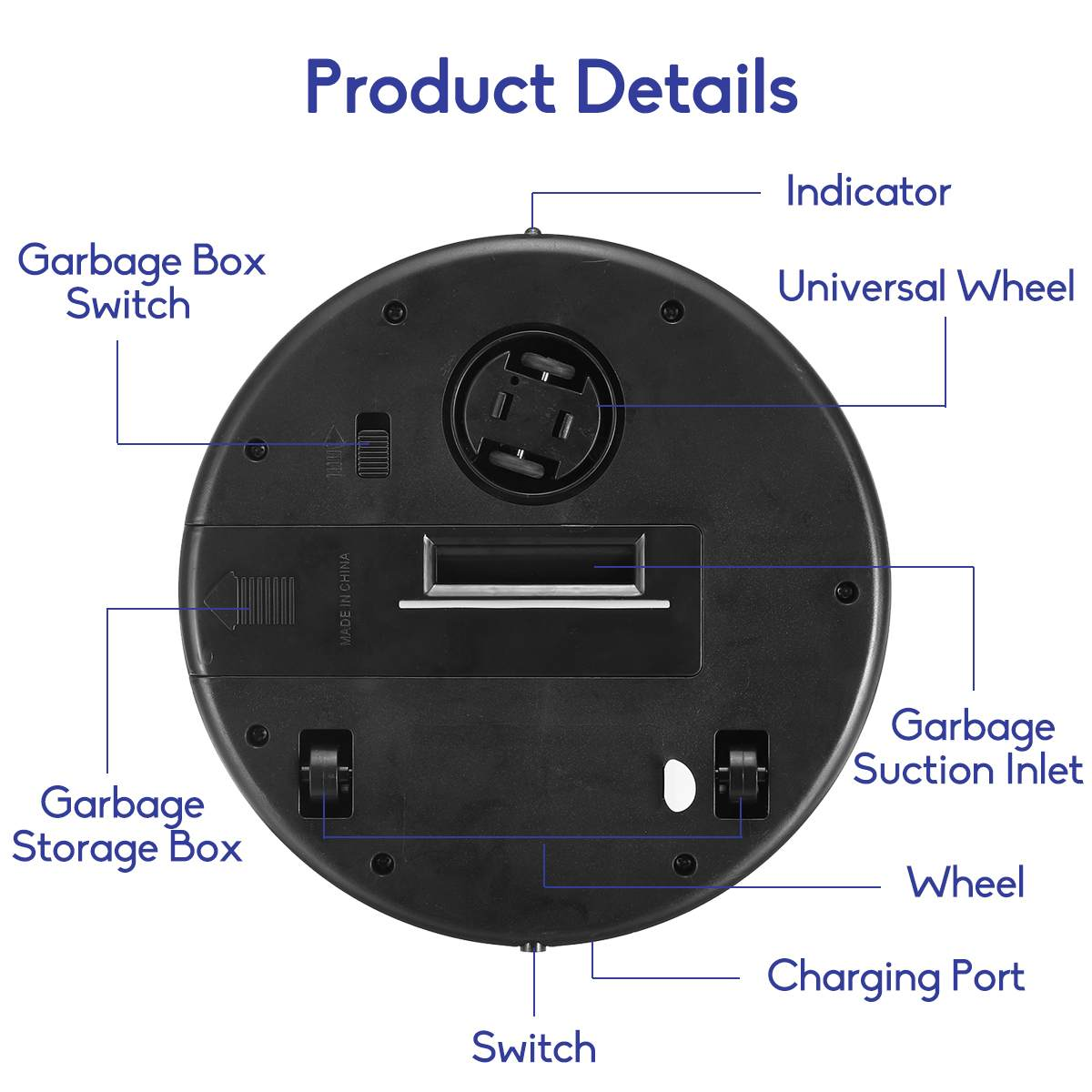 Ha93e4a0c384c404fa0b3b020969fb645g Smart Automatic Robot Vacuum Cleaning Machine Intelligent Floor Sweeping Dust Catcher Carpet Cleaner For Home Automatic Cleaning