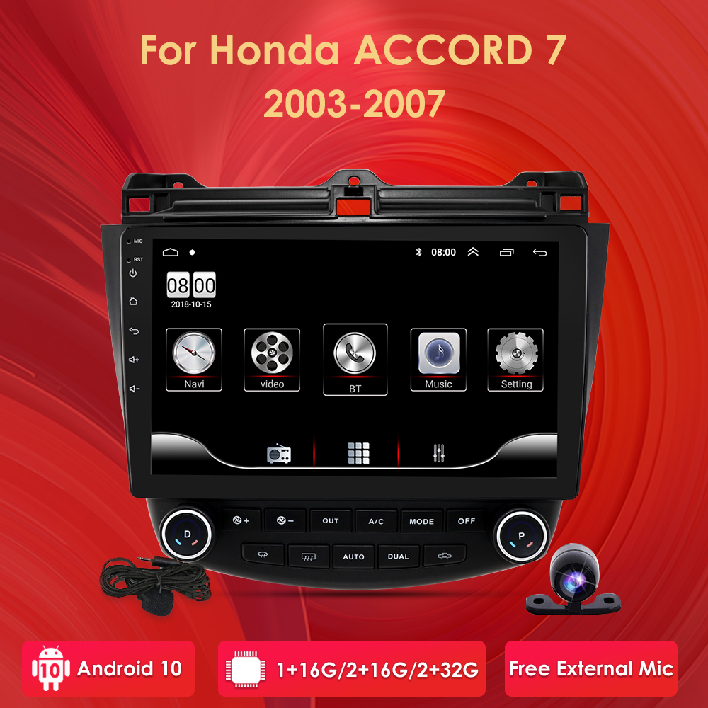 <font><b>android</b></font> 10 car nodvd for <font><b>honda</b></font> <font><b>Honda</b></font> <font><b>Accord</b></font> 7 2003-2007 gps navigation <font><b>radio</b></font> video stereo multimedia player quadcore head unit image
