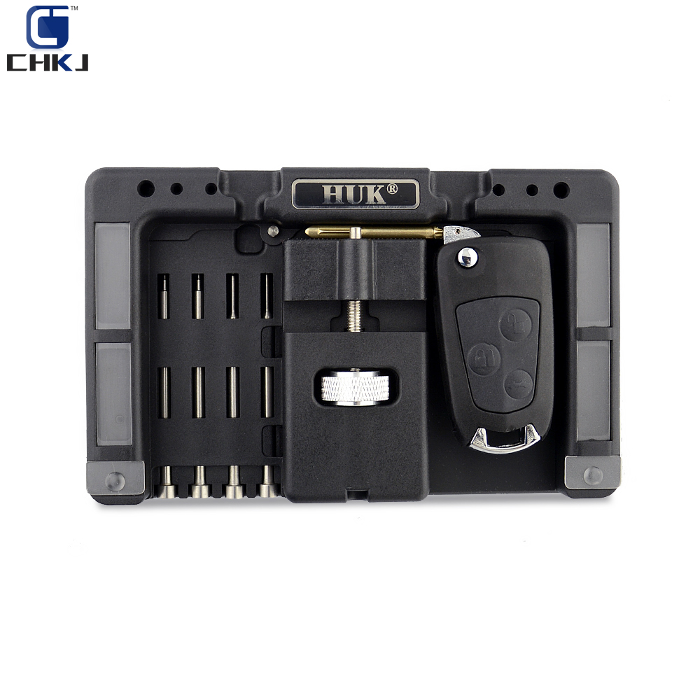 CHKJ Original HUK Key Fixing Tool Flip Key Vice Of Flip-key Pin Remover For Locksmith Tool With Four Pins Free Shipping