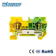 10Pcs ST-4PE Instead of PHOENIX CONTACT Connectors Return Pull Type Spring Cage Connection Ground Terminal Blocks Screwless