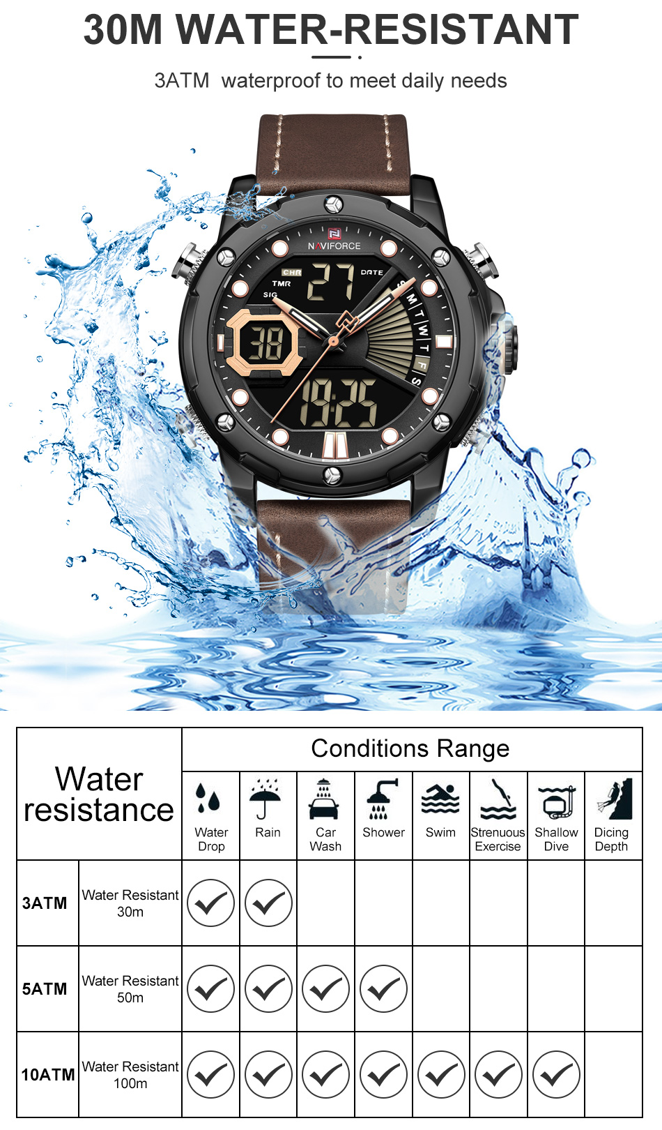 Ha93ed5b12d604e64b5da58a44b76a2a4M NAVIFORCE Men Watch Top Luxury Brand Fashion Sports Wristwatch