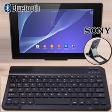 Bluetooth Keyboard Portable Wireless Keyboard for Sony Xperia Z4 10.1 Inch / Xperia Z4 SGP712 / Xperia Z4 SGP771 Tablet Keyboard