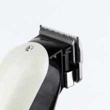 Prolithium series Professional Hair Clipper white Men Electric Cordless Hair Trimmer Baldheaded T Blade Finish Haircut 110V-240V
