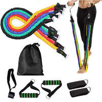 Fitness Elastischen Pull Up Widerstand Bands Workout Set Übung Yoga Gummi Ziehen Schleife Tür Seil Gym Festigkeit Ausbildung Ausrüstung
