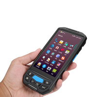 Industrial pda terminal handheld gps rugged pda 5 inch android 7.0 2D bluetooth barcode scanner